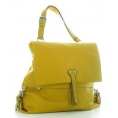 Sac à dos sac à main, jaune